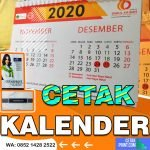 Cetak Kalender Meja Komunitas